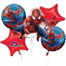 Amazing Spiderman Bouquet of Balloons