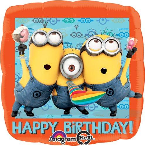 Birthday Despicable Me Balloon