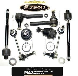 Inner Outer Tie Rods Ends Lower Ball Joints Stabilizer Bar Link