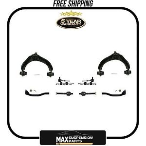 Upper Control Arm W/Ball Joint Tie Rods Sway Bar Links $5 YEARS WARRANTY$