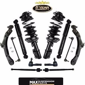 Front Strut Coil Spring Assembly & Rear Shocks & Suspension Steering Chassi Kit