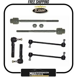 Sway Bar Links Inner Outer Tie Rod End Suspension $5 YEARS WARRANTY$