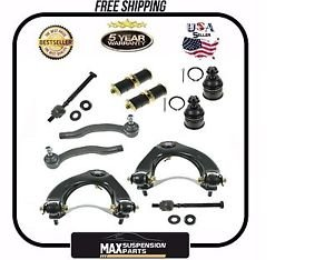 HONDA CIVIC SUSPENSION CONTROL ARM BALL JOINT TIE ROD KIT SET $5 YEARS WARRANTY$