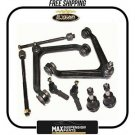 Control Arms W/Ball Joints-Bushings Outer-Inner Tie Rod Ends $5 years warranty$