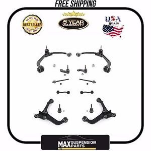 Chassis Kit Control Arms Tie Rods Sway Bar Ball Joints $5 YEARS WARRANTY$