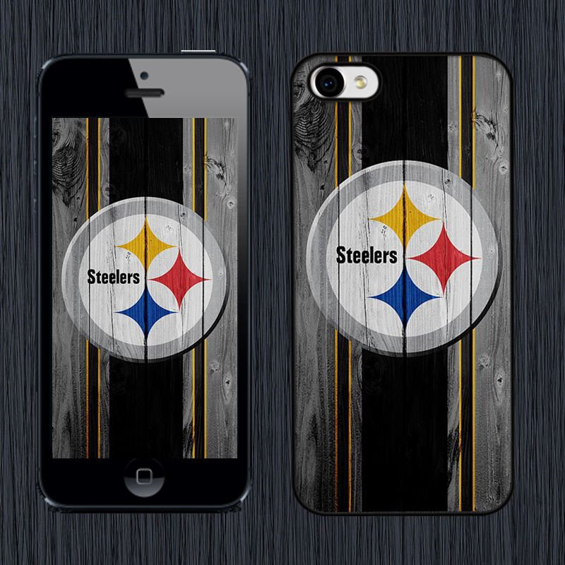 Pittsburgh Steelers NFL Case Cover For iPhone 4 4s 5 5c 5s SE 6 6s Plus N-101