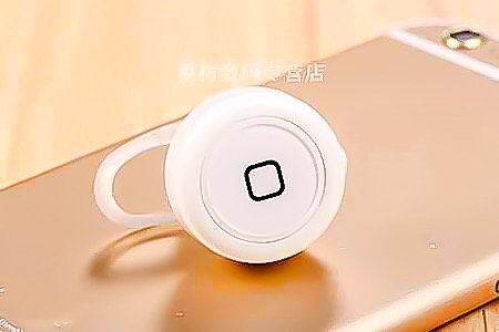 Smallest Wireless Bluetooth 4.1 Mini Earphone For all Smartphones/Tablets (White)