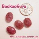 Muscovite Faceted Beads (4) - Jewelry Supplies - Create - Gemstone, BooKooGuru