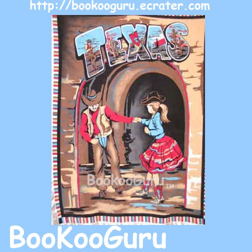 NEW ! - Fleece Throw, Blanket, Texas Dancers, Cowboy, Coverlette, Boots, Dance, BooKooGuru