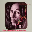 Bob Marley Sticker, Black and White Photo, blunt, Bob Marley Photo with Smoke, BooKooGuru