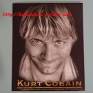 Kurt Cobain Vinyl Sticker, Smells Like Teen Spirit - Kurt Cobain Nirvana Tribute, BooKooGuru
