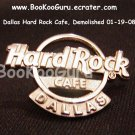 Hard Rock Cafe Dallas Texas - Insignia Logo Pin - Rare ! - Limited Edition 300 ! BooKooGuru