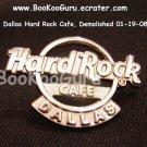 Hard Rock Cafe Dallas Texas - Insignia Logo Pin - Rare ! - Limited Edition 300 ! BooKooGuru