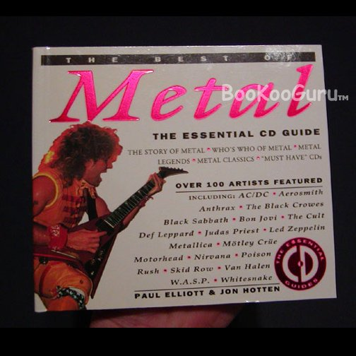 Metal CD Price Guide Book - Van Halen - Frank Zappa - Judas Priest - etc., BooKooGuru
