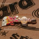 Hard Rock Cafe Dallas Texas - Skull Flame Guitar Pin - Limited Edition 300 !, BooKooGuru