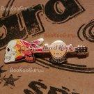 Hard Rock Cafe Dallas Texas - Skull Flame Guitar Pin - Limited Edition 300 !, BooKooGuru
