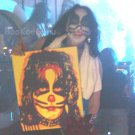 Fiery Peter, Peter Criss, KISS, Hand-painted original, Acrylics on Canvas, 16x20, BooKooGuru
