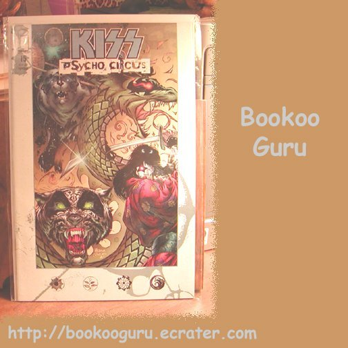 KISS (the band) Psycho Circus Comic Book, #15, Gene Simmons,Medina/Conrad artists, BooKooGuru