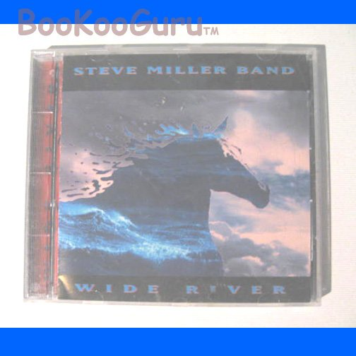 Steve Miller Band, Wide River CD, Original Great Condition, Sailor Records, 1993, BooKooGuru