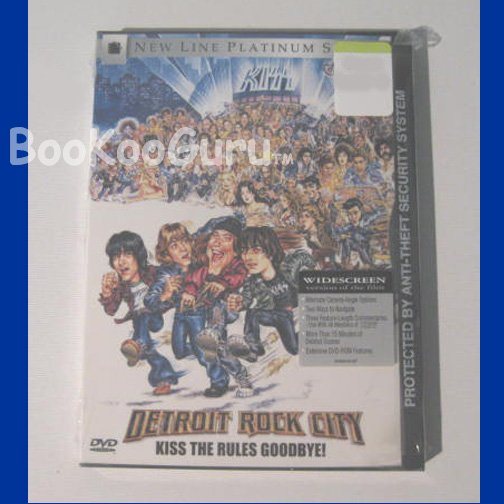 Detroit Rock City, DVD movie, New factory sealed. KISS the Rules Goodbye!, with Extras!