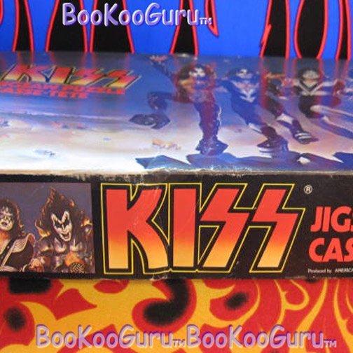 KISS, Puzzle1977, Destroyer- Aucoin, 200 piece, Vintage, Eric Carr, Ace Frehley