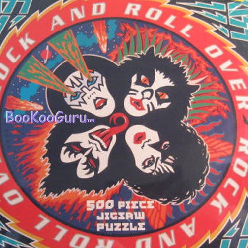 KISS - Puzzle, 1997 - Rock And Roll Over - 500 piece -  Eric Carr - BooKooGuru