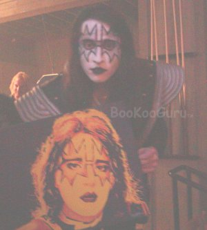 Fiery Ace, Ace Frehley, KISS, Hand-painted original, Acrylics on Canvas, 16x20, BooKooGuru