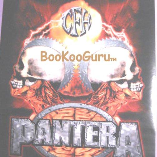 Pantera Poster  - Reinventing the Steel - NEW  - Diamond Darrell - Damage Plan - BooKooGuru!
