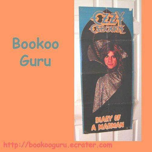 Ozzy Osbourne - Diary of a Madman - Original Promo Poster - 1981, Jet Records, BooKooGuru