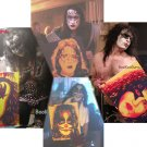 All 4 Original KISS Members, Original Paintings, Entire Set, Free Shipping!