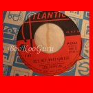 Led Zeppelin 45 rpm Record, Rare Immigrant Song, Japanese Version, Very Good