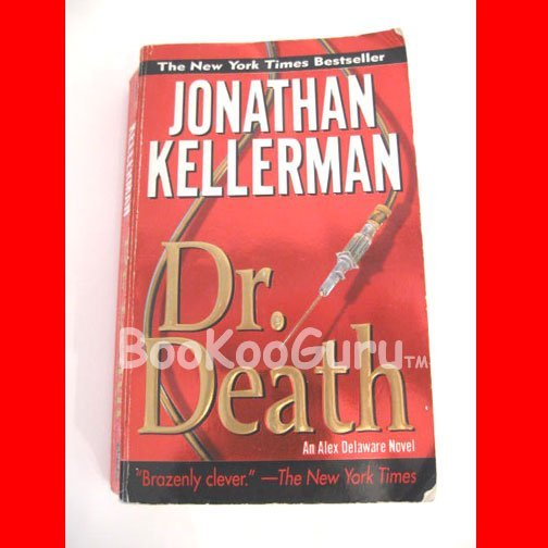 Dr. Death, Author Jonathan Kellerman, New York Times Bestseller, Paperback Book,  Suspense
