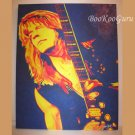 Randy Rhoads Painting, Original Artwork, 16x20 Canvas, Acrylics, Handpainted, One-of-a-kind