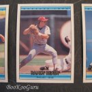 Donruss, 1992, Baseball Cards, Mike Morgan, Randy Ready, Steve Bedrosian, Set of Three, Near Mint