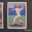 Donruss, 1992, Baseball Cards, Bob Tewksbury, Pat Kelly, Dave Gallagher, Set of 3, Near Mint