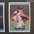 Donruss, 1992, Trading Cards, Scott Bailes, Randy Johnson, Wes Chamberlain, Set of 3, Near Mint