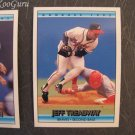Donruss, 1992, Collector Cards, Jeff Treadway, Charlie Hough, Jesse Barfield, Set of 3, Near Mint
