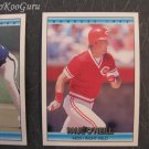 Donruss, 1992, Baseball Trading Cards, Paul O'Neill, Mike Simms, Steve Farr, Set of 3, Near Mint