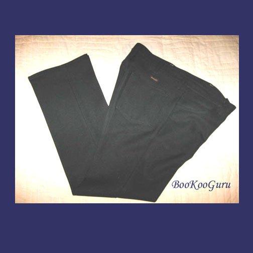 Vintage Wrangler Slacks, Black, Size 34x30, Style 32BK, Polyester jeans W413