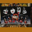 KISS Sign - 7-11 Big Gulp - Plastic Poster ! LIMITED ! Very Rare.