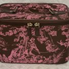 Small Brown/Pink Toile Case