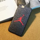 Cool Jordan basketball Leather silk soft case cover for iphone6 6S plus