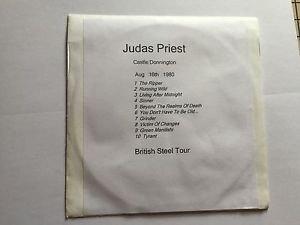 Judas Priest CD Castle Donnington  1980 British Steel