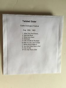 Twisted Sister CD Castle Donington 1983