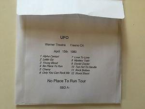 UFO 2 CD Fresno 1980 No Place To Run