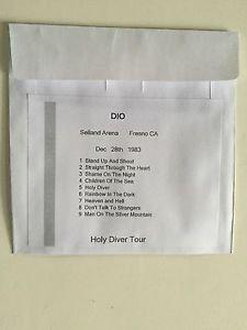 Dio CD Fresno 1983 Holy Diver