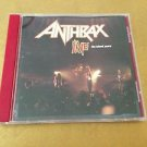 1994 Anthrax CD Live The Island Years Photo Fold Out