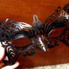 New Halloween Fancy EYE MASK Masquerade Ball Elasticized Black Costume Party