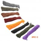 8 colors Paracord 550 Parachute Cord Lanyard Rope Mil Spec Type 7Strand 100FT Climbing Cam