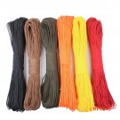 50 feet Dia. 2mm one stand Cores Paracord for Survival Parachute Cord Lanyard Camping Clim